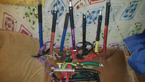 Ice Axes for Vertical Ice climbing various models all functional