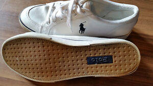 RALPH LAUREN POLO LEATHER RUNNING SHOES 10 1/2, 11, 11 1/2, 12 Sarnia Sarnia Area image 1