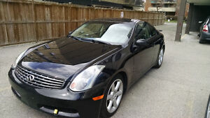 2005 Infiniti G35 Coupe (2 door). Fully loaded.