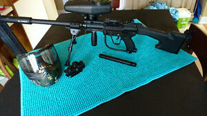 Tippmann A-5 with Cyclone feed system