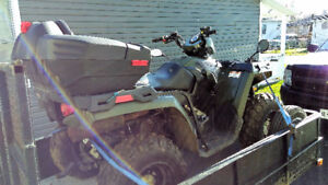 2011 Polaris Sportsman 400 with Trailer-Seat-Cover