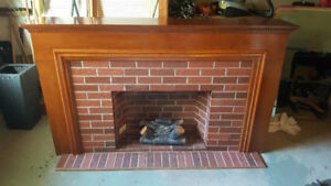 "Electric Fireplace. Decorative. 82""x48.5""x14.5"""