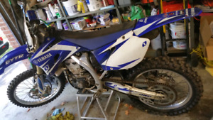 Yz450f mint condition 25 hours on the engine