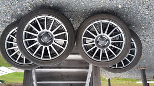"""17"""" rims from a Ford focus"""