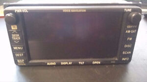 04-06 TOYOTA CAMRY NAVIGATION RADIO SCREEN TOUCH CD SAT PLAYER