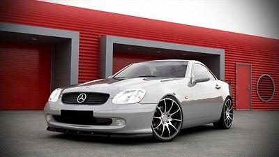 carbon Spoilerlippe Frontspoiler Diffusor Ansatz Mercedes SLK R170 Bj. 00-04