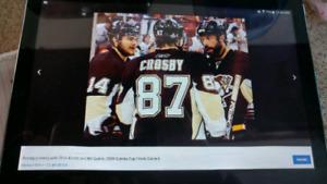 Chandail Hockey Officiel.  De 87 Crosby gr 52 ou
