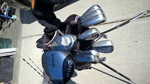 Left Handed - Golf Clubs and Bag