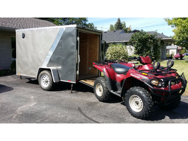Used 2009 Kawasaki 750 Big Brute