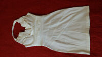 white dress size xtra small