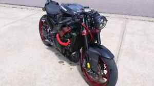 Custom street fighter/bobber zx10r