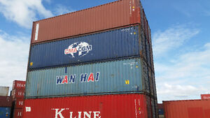 40' High Cubes Sea Container / Storage Container Blowout!