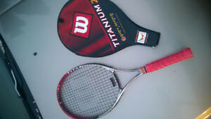 Wilson Titanium 2 Graphite  Tennis Racquet