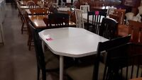 Table + 4 chairs - Used