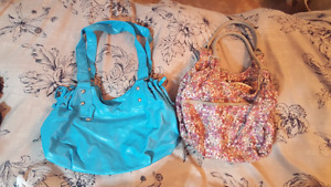Clothing Lot: purses shoes bathing suit shorts skirts pants bras