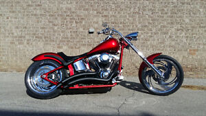 Custom Softail 250 rear tire