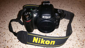 Nikon D40x Camera Body Cambridge Kitchener Area image 1