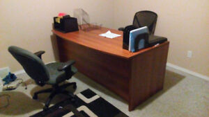 Professional Desk and Chairs
