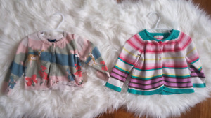 Baby girl sweaters - brand name !