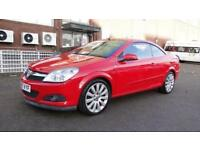 2007 Vauxhall Astra 1.8 i Exclusiv Black Twin Top 2dr