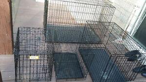 Cages à chats ou chiens différentes grandeur Q