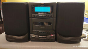 JVC UX-T1 Stereo System Boombox CD Radio Cassette only $40