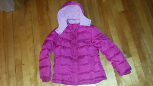 Quilted Ski Winter Jacket  Girls 6-7 yrs