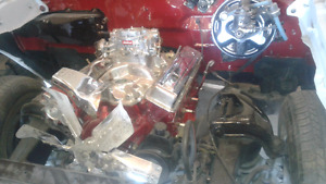 454 engine and transmission  REDUCED  $3000