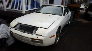 1989 944 s2. Project 5k no wheels AS IS
