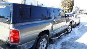 2007 Dodge Dakota truck with canopy