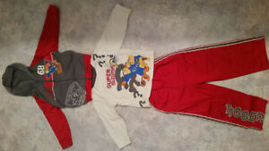3 PIECE TIGGER OUTFIT-SIZE 3