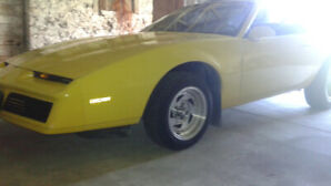 1984 Pontiac Firebird SE original paint