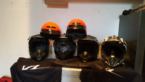 Dirt bike and ATV helmets