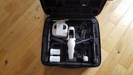 DJI Inspire 1 X3 camera 2 batteries