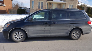 2008 HONDA ODYSSEY EXL LEARTHER SUNROOF POWER DOOR 126874 KM
