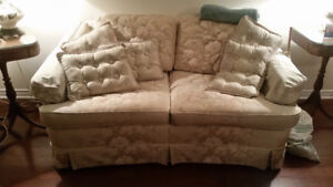 2 seater sofa ,single bed,dresser and night tables