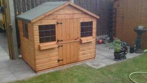 6x4 wooden playhouse ONLY £290 inc delivery