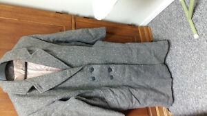 For sale grey warm winter  coat   great condition