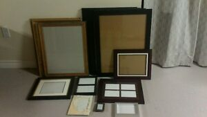 13 Variuos size picture frames buyer takes all