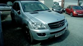 07 Mercedes Auto ML420 SE CDi FSH MOT 19/11/21 Leather interior 2Keys