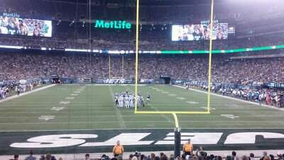 New York Jets Personal Seat License (PSL)- 2 seats- Section 101, Row 39