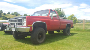 1987 GMC High Sierra 1500 Crate motor 350