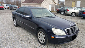 2003 MERCEDES S500 4-Matic~LOADED~LEATHER~FINANCING AVAILABLE