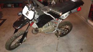 mini poket motocross 49cc 2 temps