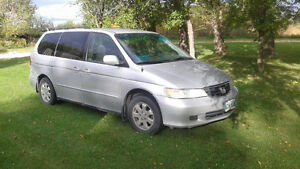 2002 Honda Odyssey Minivan, Van