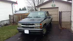 WANTED 1996 Chevrolet Silverado 1500 Pickup Truck