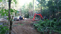 Muskoka Lot Clearing, Rock Breaking & Demolition Services