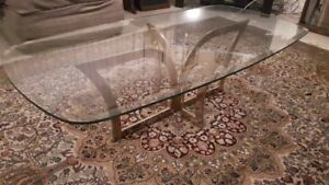 Modern Glass Coffee table for sale used