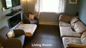 Wolfville  3 bedroom condo with a view! Academic lease available