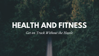 Health and Fitness Plans